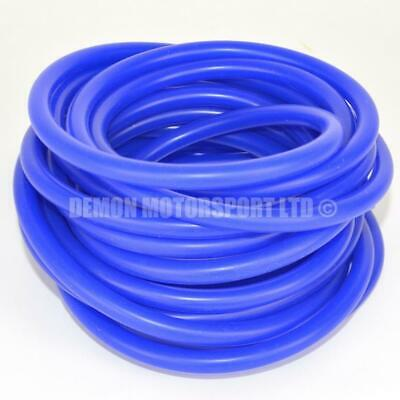 Silicone Vacuum Vac Hose Blue SELECT CORE SIZE and LENGTH Demon Motorsport