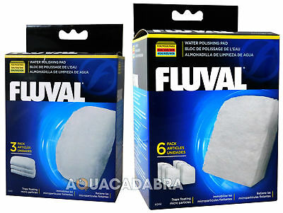 Fluval Polishing Pads Genuine External Floss Media Fish Tank Filter Aquarium