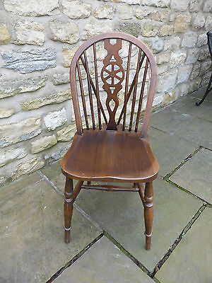 Vintage Wheel back Chair from 20's era