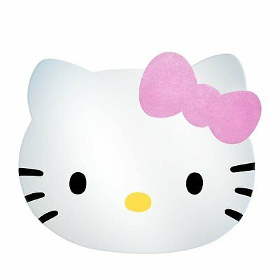 Wholesale Box Of 9 Hello Kitty Head Mirrors With Glitter Bow Lightweight Safe