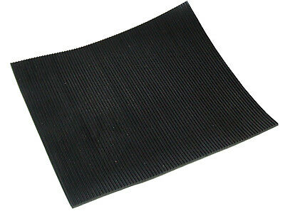 Fine Fluted Rubber Matting X 1.2M Wide 3Mm Thick Anti Slip Waterproof Sheeting