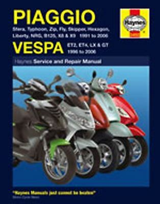 Manual Haynes for 1999 Vespa Vespa ET2 (50cc) (2T)