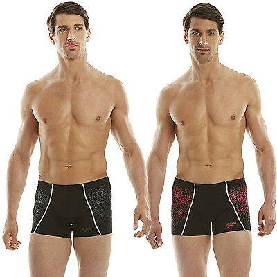 Speedo Endurance Mens Swimming Swim Aquashort Boxer Shorts Trunks Briefs