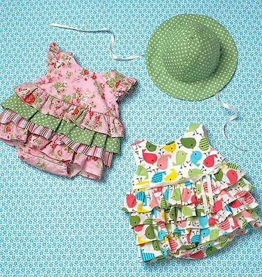 Kwik Sew Sewing Pattern  Toddlers' Baby Romper Hat S-Xxl K4094