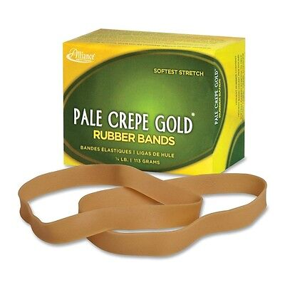 Alliance Rubber Pale Crepe Gold Rubber Bands #107