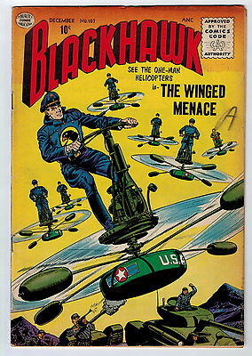 Blackhawk #107 4.5 Off-White/white Pages Silver Age