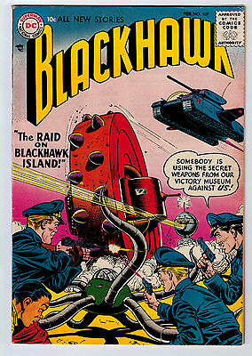 Blackhawk #109 6.0 Off-White/white Pages Silver Age