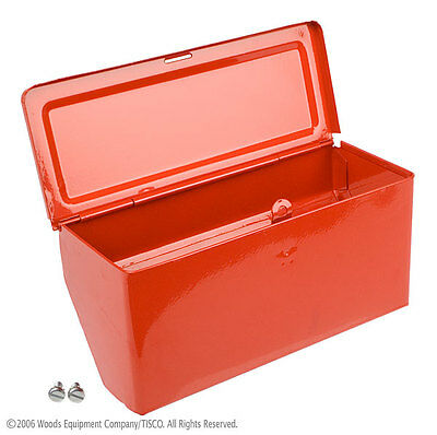 8N17005 - New Painted Tool Box Assembly for 8N (1948-1952) Ford Tractor