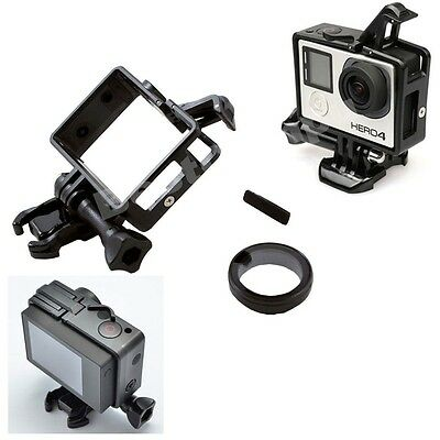 The Frame Mount Standard Protective Housing For GoPro Hero 3/4/3+ &UV Protector