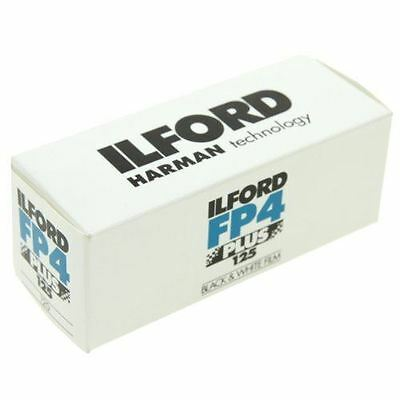 Ilford FP4 Plus ISO 125 Size 120 Single Roll Black & White Film