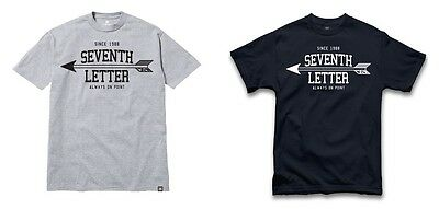 The Seventh Letter T-Shirt - Always On Point Tee - Available In Navy / Grey