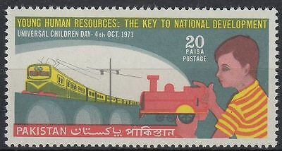 Pakistan 1971 ** Mi.311 Kindertag Children Day Toy LokomotiveLocomotive [st0363]