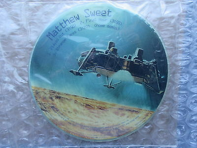 1997 Matthew Sweet Promotional Picture Disc Album Blue Sky on Mars