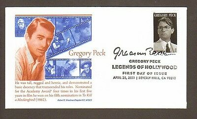 2011 Gregory Peck ~ Legend Of Hollywood ~ Afdcs ~ Fdc