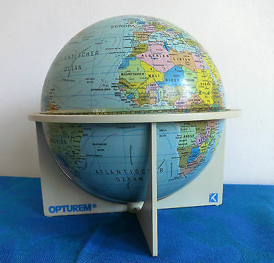 1982 Skan Globe A/S_OPTUREM Globus_Erdkugel_1: 84 000 000_Made in Denmark