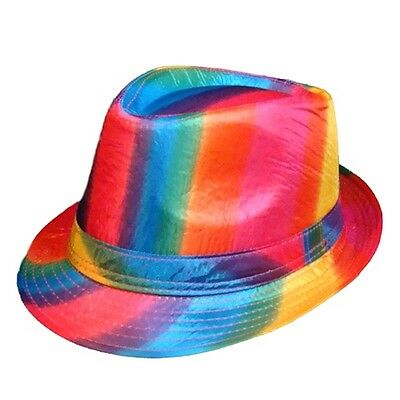Gay Pride Wholesale Rainbow Fedora Wholesale Lot of 12