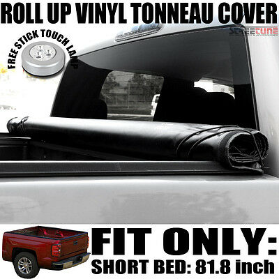Lock & Roll Up Soft Tonneau Cover Jr 99-16 F250/F350/F450 Super Duty 6.5 Ft Bed