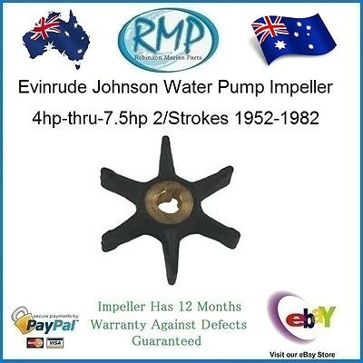 A Brand New Water Pump Impeller Suits Evinrude Johnson 4hp-thru-7.5hp # R 434424