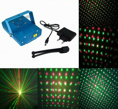 Green Red LED Lighting Projector Laser Atmospheric Star Stage DJ Party For Euro