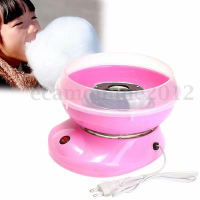 220V Electirc Candyfloss Making Machine Cotton Sugar Candy Floss Maker Party DIY