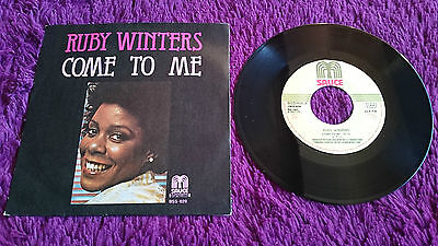 """Ruby Winters – Come To Me ,  Vinyl, 7"""""""
