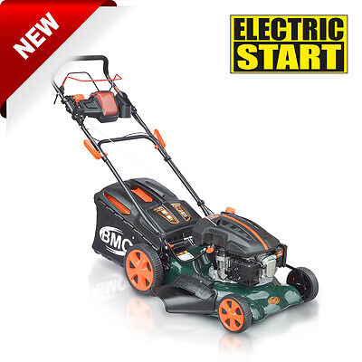 "BMC 20"" 501mm ELECTRIC START Self Propelled WOLF 5.5HP Petrol Lawn Mower"