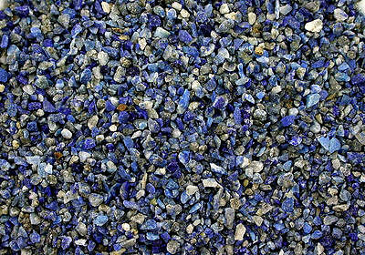 1/4 Ounce No Dye Natural Lapis Lazuli Chip No Powder Inlay Sand Painting