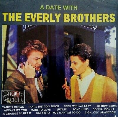 NEW & SEALED - THE EVERLY BROTHERS - Country Rock And Roll Pop Music CD Album
