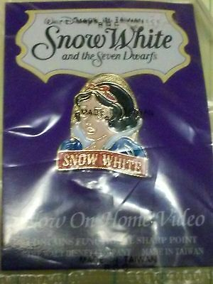 Snow White And The Seven Dwarfs Video Release At Disney Store Pin, Mint On Card