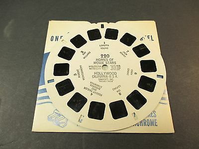Sawyer's Viewmaster Reel, Homes of Movie Stars Hollywood # 220 Benny Young Grant