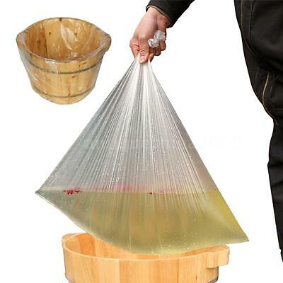100Pcs Foot Spa Pediluvium Bags Disposable Thickening Barrel Bags 55x66cm B2X3