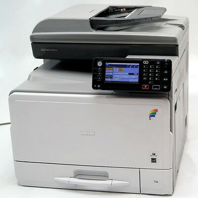 Ricoh Aficio MP C305SPF A4 Color Laser Multifunction Copier Printer Scanner