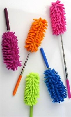 Microfibre Duster with Extendable Handle 75cm House Cleaning Clean Surface New