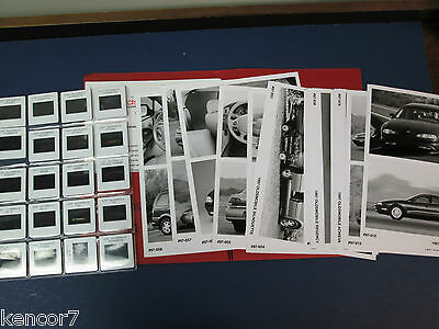 1997 Oldsmobile Full Line Auto Show Media Press Release With Slides C7877