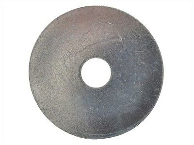Large Round Zinc Mudguard Washer 50mm Diameter M6 M8 M10 M12 (Pack of 4)