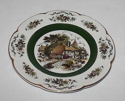 Ascot Village Service Plate Wood & Sons Scene 2 Bridge
