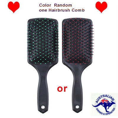 Professional Paddle Cushion Hair Scalp Massage Brush Hairbrush Comb GH