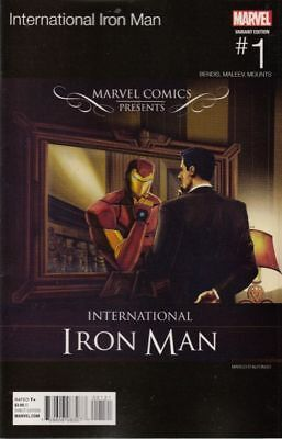 International Iron Man #1 Dalfonso Hip Hop Variant 2016 (Marvel Comics)