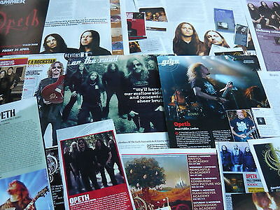 Opeth - Magazine Cuttings Collection (Ref X12)
