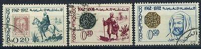 16-03-00296 - Morocco 1962 Mi.  508-510 US 100% Stamps Day
