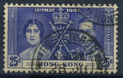 16-02-01057 - Hong Kong 1937 Mi.  138 US 100% Coronation