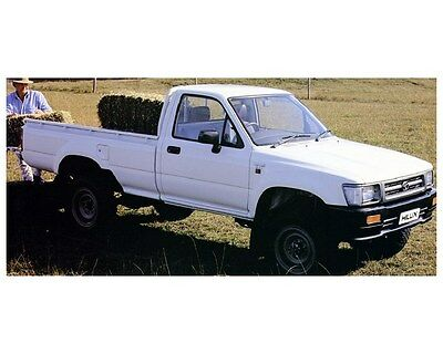 1992 Toyota HiLux 4x4 Pickup Truck Factory Photo ca4851