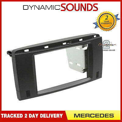 CT23MB30 Double Din Fascia Facia Panel Plate For MERCEDES R-Class W251 2006-2012