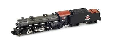 Z Scale Locomotive AZL Great Northern Heavy Mikado 2-8-2 Road Number 3145