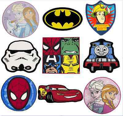 Childrens Rugs Avengers Thomas Frozen Cars Star Wars Spiderman Bedroom Rug Mat