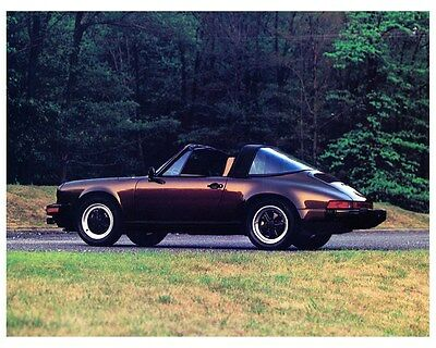 1982 Porsche 911SC Targa Factory Photo ca4882