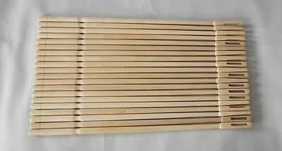 20 Pieces Flute Sticks Cleaning Rod  Maple wood material
