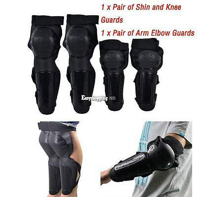 Motorcycle Protective Protector Knee Pads Arm Elbow Knee Guards Racing Gear Pads
