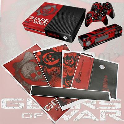 Sticker Cover Adesivo Gears of WAR NEW BEST EXCLUSIVE Skin for Console XBOX ONE