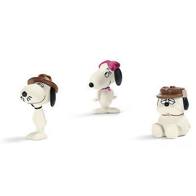 Schleich Scenery Pack Snoopy's Siblings NEW